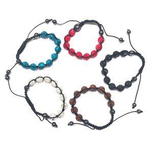 Set Of 5 Crystal Balla Bracelets NWT